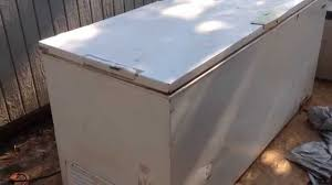 chest freezer repair not cooling youtube