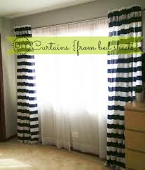 Curtains Made From Bed Sheets Curtains Made From Sheets Decorate The House With Beautiful Curtains