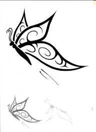 butterfly tattoo design by onlyonemoomin deviantart com on