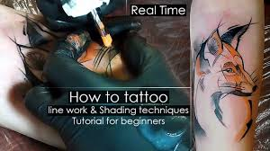 tattoo tutorial shading how to tattoo words with shading and