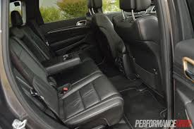 jeep grand cherokee interior seating 2014 jeep grand cherokee limited v6 review video performancedrive