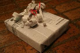 newspaper wrapping paper 7 alternatives to wrapping paper takepart