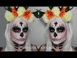 Dead Halloween Costumes Sugar Skull Makeup Tutorial U0026 Costume Dead Halloween