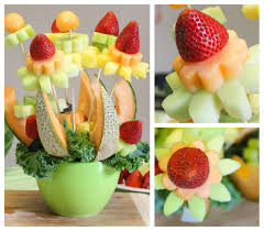 fruit flowers baskets how to make a diy fruit bouquet it s easier than you think