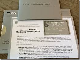 American Express Business Card Benefits Amazing 150 000 Bonus Point Offer From The Business Platinum