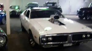 Dodge Challenger With Blower - 1973 dodge charger blown 440 727 auto youtube