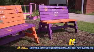 Picnic Benches For Schools Buddy Benches U0027 Discourage Bullying At Local Schools Abc11 Com