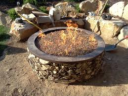 Custom Fire Pit by Custom In Herriman Utah Chris Jensen Landscaping In Salt Lake