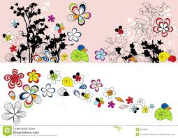 Flowers Designs For Drawing Design With Flowers Drawing Stock Photos Image 8543953