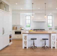 oak kitchen cabinets with oak flooring home with crisp transitional interiors home bunch interior
