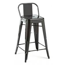 furniture wrought iron framed counter stool which completed with
