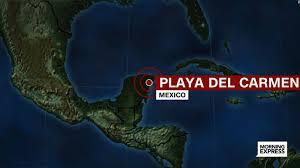 Playa Del Carmen Mexico Map by 5 Killed In Shooting At Mexico Nightclub Cnn Video
