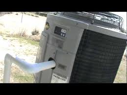 what not to do with a hayward pool heater heat pump 001 mpg youtube
