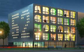 colorful building mvrdv reveals its colorful new alphabet facaded energy efficient