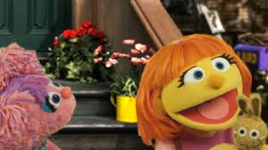 sesame street halloween background sesame street introduces new muppet julia who has autism today com