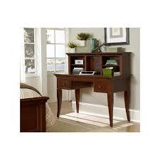 writing desk and entertainment hutch walnut street