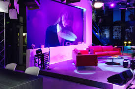home adeli be curious tv stage public space interior architecture