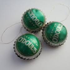 o douls ornaments near bottle cap by lizardskins