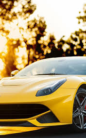 Ferrari F12 Yellow - ferrari f12 berlinetta mobile wallpaper mobiles wall