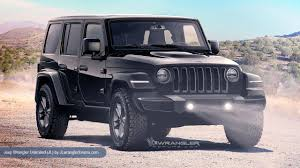 2020 jeep wrangler at a glance what we know about the 2018 jeep wrangler