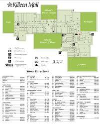 killeen map killeen mall 89 stores shopping in killeen tx 76543