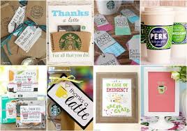 10 free printable coffee appreciation gifts