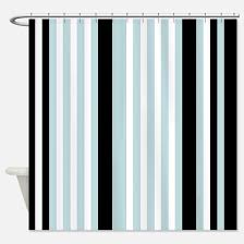 Black And White Vertical Striped Shower Curtain Vertical Stripes Shower Curtains Vertical Stripes Fabric Shower