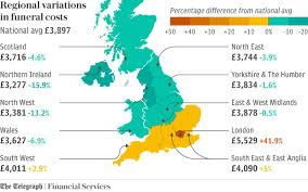 funeral costs average cost of a funeral in uk by region the telegraph