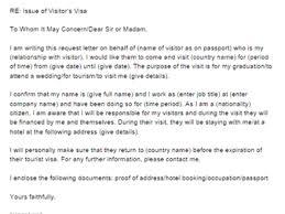 26 sample letter for visa invitation visa invitation letter for