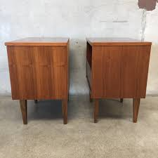 Mid Century Nightstands Pair Of Mid Century Nightstands U2013 Urbanamericana