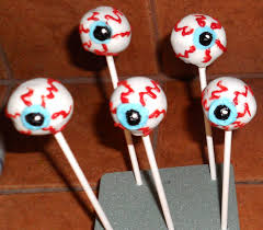 How To Make Halloween Cake Pops Cool Eye Balls Cake Ball Ideas Pinterest