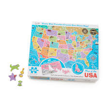 Map Puzzle Usa by 50 States Puzzle Within A Puzzle Map Of Usa States Us Map