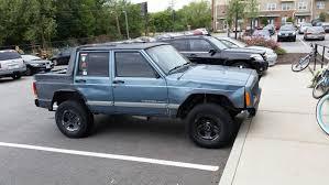 The Elusive Jeep Cherokee Pickup Shitty Car Mods