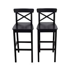 Furniture Wooden Bar Stool Ikea by 38 Off Ikea Ikea Wooden Barstool Chairs Chairs