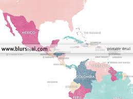 World Map Mexico by Personalized World Map Printable World Map With Countries In