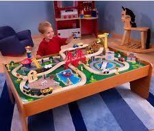 kidkraft train table compatible with thomas kidkraft kids thomas the tank engine trains vehicles ebay