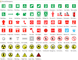 fire evacuation floor plan floor plan symbol fire extinguisher symbols signs for hospital