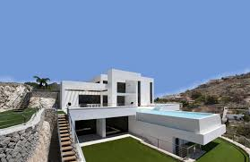 Concrete House Designs Modern House Made Of Concrete Boxes