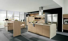 ilot central dans cuisine ilot central cuisine 6 la cuisine blanche et bois dans