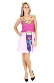 Zelda Costumes Halloween Amazon Nintendo Legend Zelda Costume Tank Dress Clothing