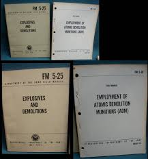 military manuals government reports and publications