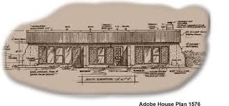 adobe home plans solar adobe house plan 1576 affordable solaradobe house plans
