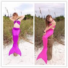 Mermaid Halloween Costume Toddler Aliexpress Buy Mermaid Tails Children Children Ariel