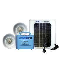 su kam solar home lighting system emergency light with panel