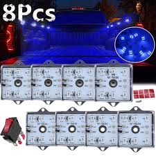 Truck Bed Lighting Aliexpress Com Buy 8pcs 56cm Super Blue Car Led Light Strip