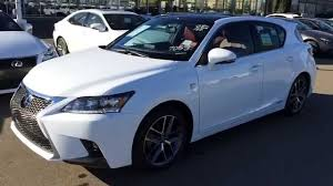lexus hatchback 2016 2015 lexus ct 200h hybrid f sport navigation walk around review