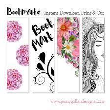 printable bookmark template bookmarks pinterest bookmark
