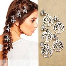hair accesories 5x viking tree of yggdrasil dreadlock bead braid hair