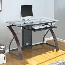 Office Desk With Glass Top Office Design Office Desk Glass Top Home Office Desk Glass Top