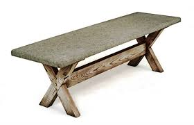 Bench Molds - concrete bench molds furniture decor trend affordable outdoor